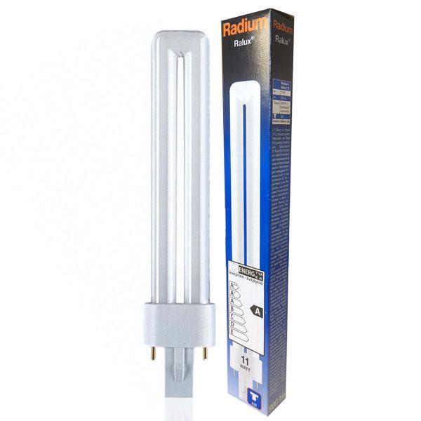 ampoule fluocompacte g23 11w ralux 3000k radium ampoules service. Black Bedroom Furniture Sets. Home Design Ideas