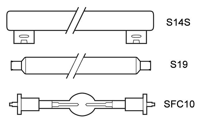 ampoules culot cylindrique