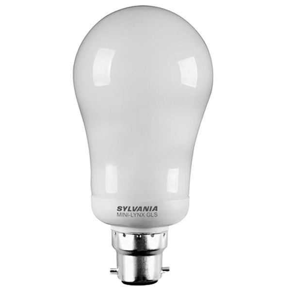 ampoule fluocompacte b22 15w mini lynx compact standard 2700k sylvania ampoules service. Black Bedroom Furniture Sets. Home Design Ideas
