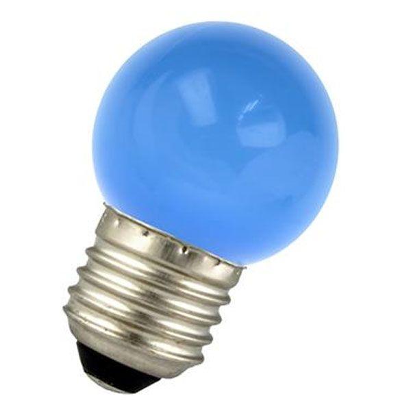 ampoule led e27 1w sph rique bleu ariane ampoules service. Black Bedroom Furniture Sets. Home Design Ideas