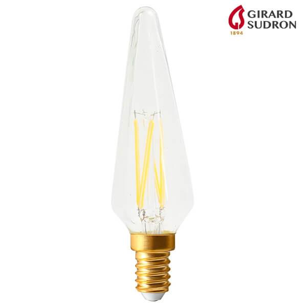 Ampoule LED à Filament E14 4W 320lm Flamme