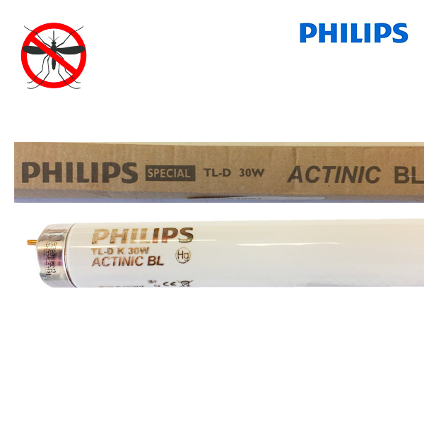 Tube fluorescent G13 T8 30W Actinic BL-TL-DK Philips