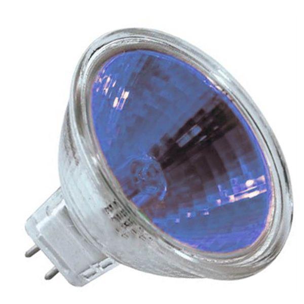 ampoule halog ne dichro que bleu gu5 3 12v 20w 12 orbitec. Black Bedroom Furniture Sets. Home Design Ideas