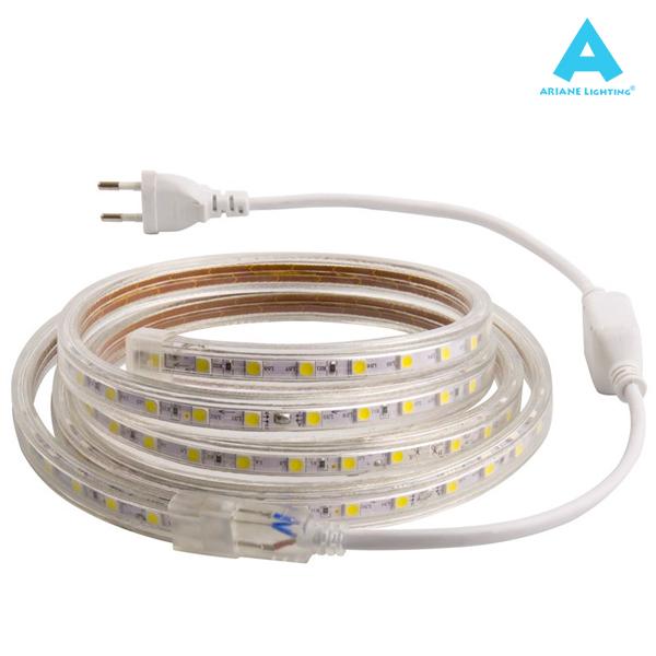 Beau Ruban LED 4000K IP65 220V 60 LED/m 10 Mètres Ariane