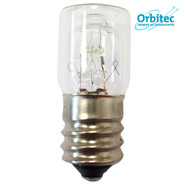 Ampoule à incandescence E14 5W 255V 16x35mm Orbitec