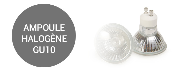 ampoules halog ne culot gu10 i ampoules service. Black Bedroom Furniture Sets. Home Design Ideas