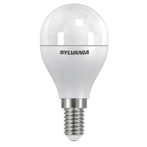 ampoule led toledo dimmable e14 5 6w 470lm sph rique d polie sylvania ampoules service. Black Bedroom Furniture Sets. Home Design Ideas
