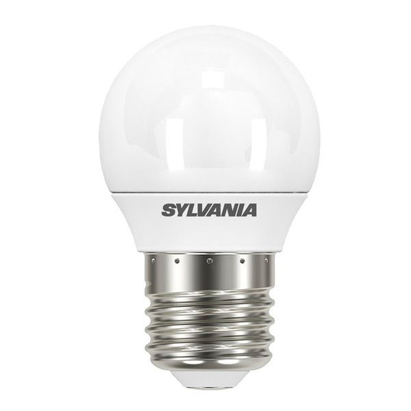 ampoule led toledo e27 5 5w 470lm sph rique d polie sylvania ampoules service. Black Bedroom Furniture Sets. Home Design Ideas