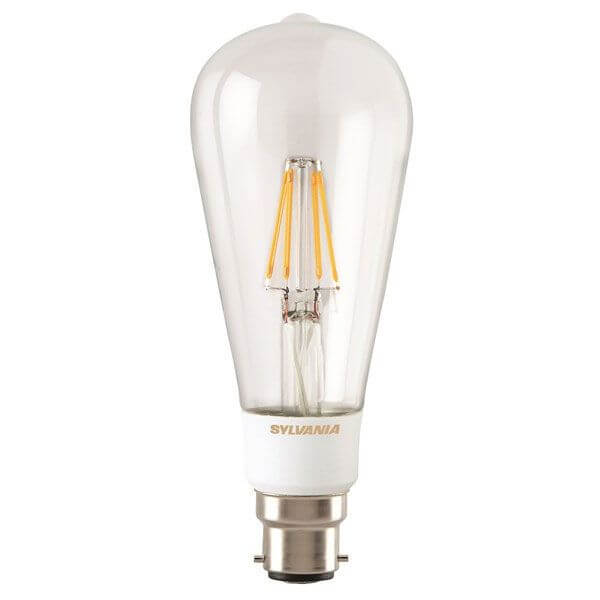 ampoule edison filament led toledo retro b22 5 5w claire sylvania ampoules service. Black Bedroom Furniture Sets. Home Design Ideas