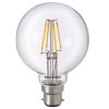 LED filament globe ToLEDo Retro B22 4W 2700K Clear Sylvania