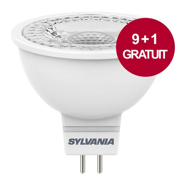 ampoule led refled gu5 3 345lm 5 5w 4000k sylvania ampoules service. Black Bedroom Furniture Sets. Home Design Ideas
