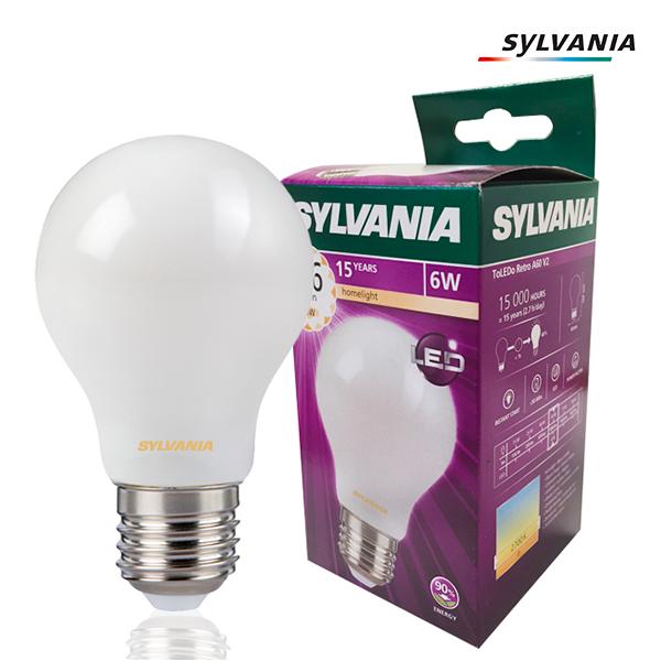 2700k Retro 6w Standard Sylvania Opale Filament Toledo À E27 Ampoule Led 3Lqc4ARj5