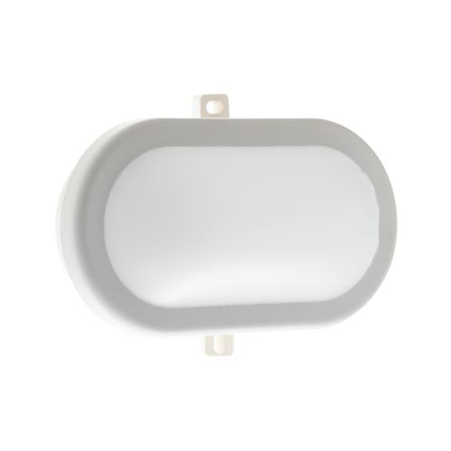 Plafonnier LED EXTRA 10W 700lm 4000K 120° IP54 Polycarbonate Blanc Diffuseur Opale