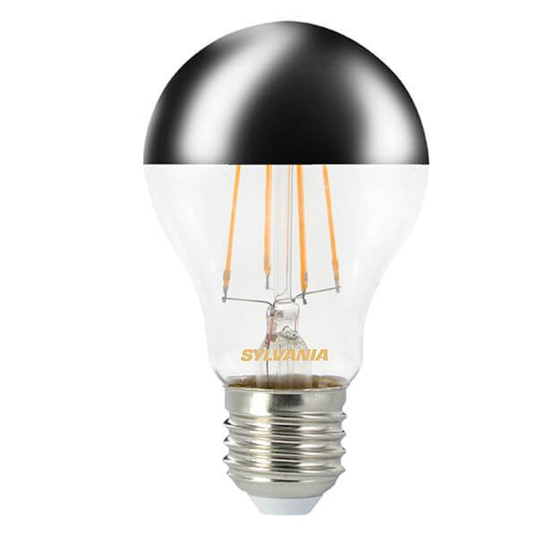 ampoule led filament toledo retro e27 4w standard calotte argent e sylvania ampoules service. Black Bedroom Furniture Sets. Home Design Ideas