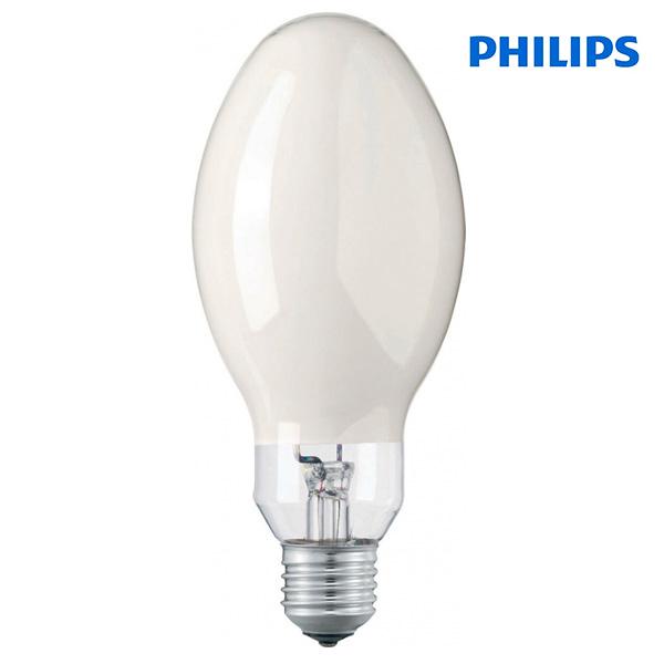 Lampe vapeur de mercure e27 80w 3600lm 4200k philips for Lampes exterieur philips