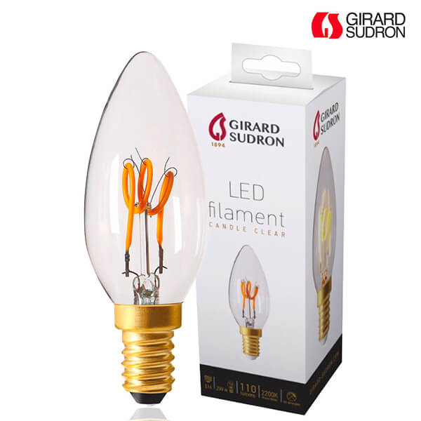 ampoule led filament e14 2w flamme loops claire girard sudron ampoules service. Black Bedroom Furniture Sets. Home Design Ideas
