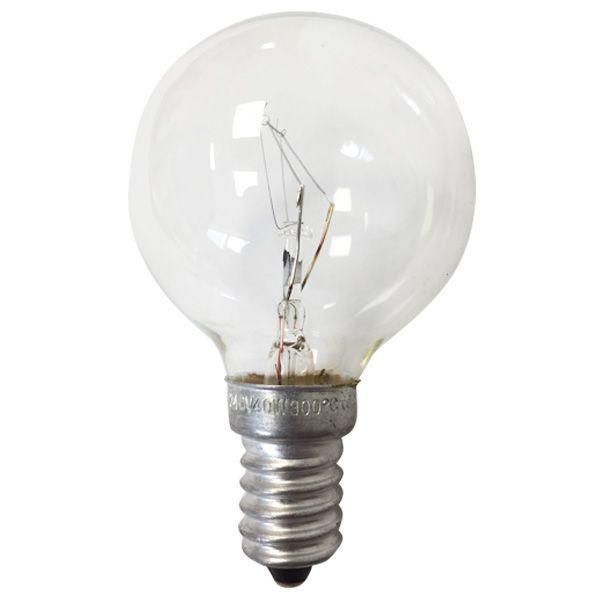 ampoule incandescence e14 sph rique 40w sp cial four 300. Black Bedroom Furniture Sets. Home Design Ideas