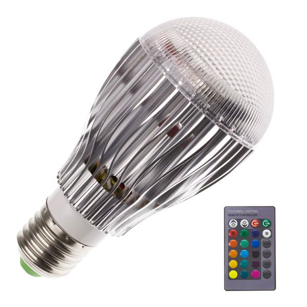 ampoule led standard e27 9w 850lm rgb ariane ampoules service. Black Bedroom Furniture Sets. Home Design Ideas