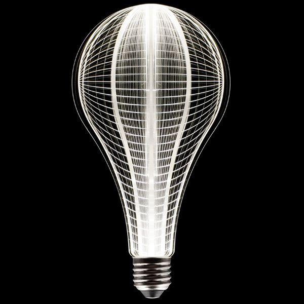 ampoule led d co terre e27 2w 90lm 3300k plexiglass uri ampoules service. Black Bedroom Furniture Sets. Home Design Ideas