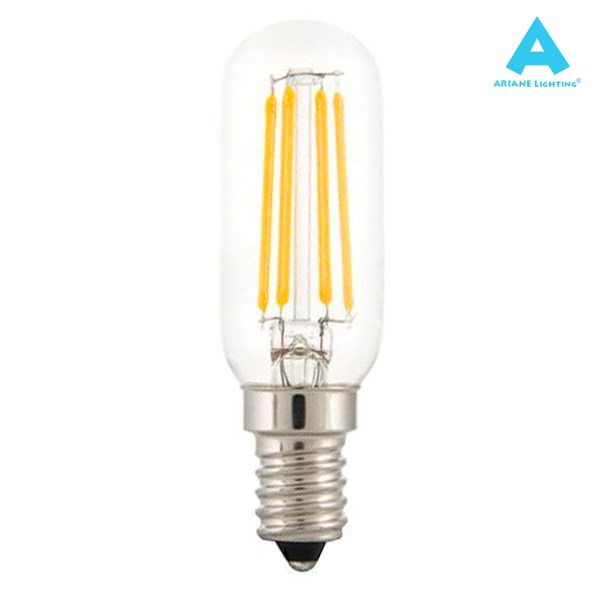 Tube LED à filament E14 4W 450lm 2700K Ariane
