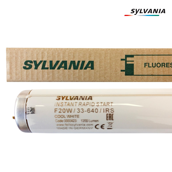 Tube fluorescent G13 T12 20W Instant Rapid Start 4300K Sylvania