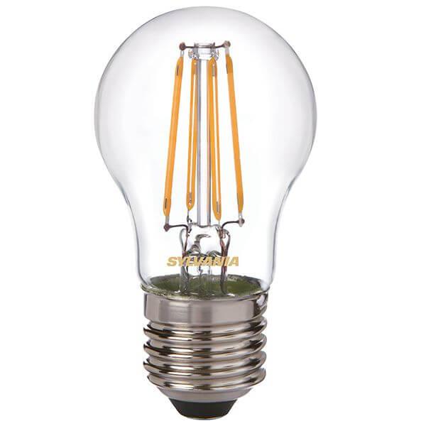 ampoule led filament toledo retro e27 4w sph rique claire sylvania ampoules service. Black Bedroom Furniture Sets. Home Design Ideas