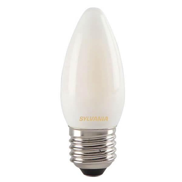 ampoule led filament toledo retro e27 4w flamme satin e. Black Bedroom Furniture Sets. Home Design Ideas