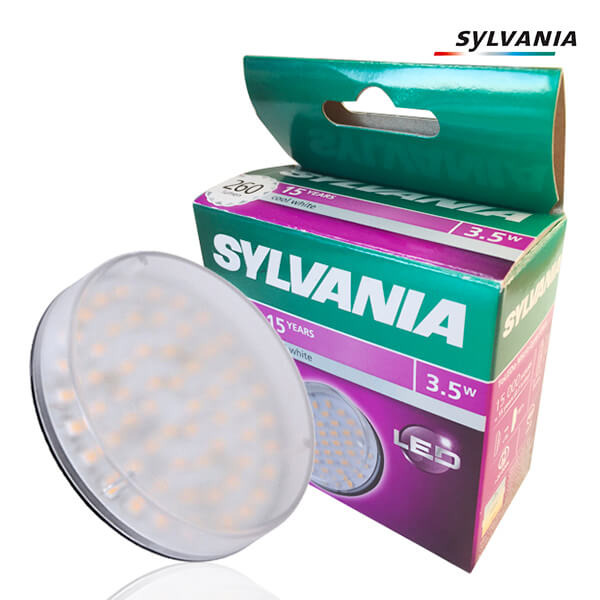 Ampoule LED Toledo Micro-Lynx GX53 3.5W 260lm 4000K Claire Sylvania