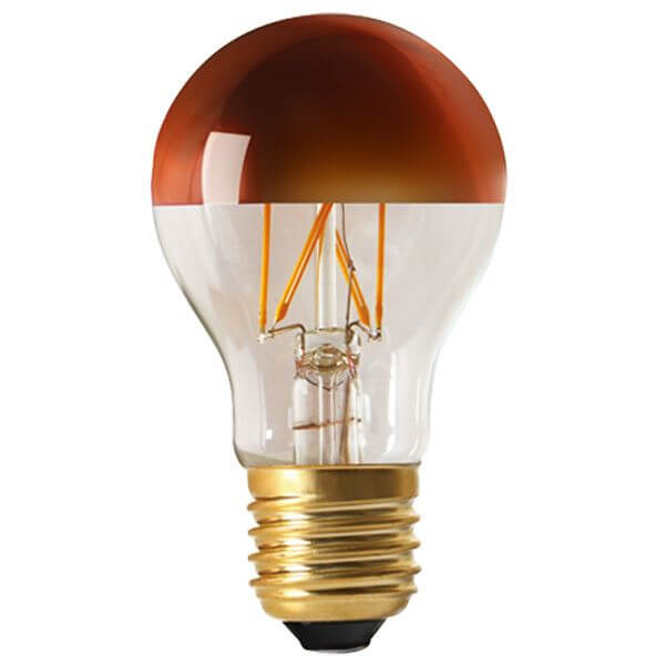 ampoule filament led e27 6w standard calotte bronze dimmable girard sudron ampoules service. Black Bedroom Furniture Sets. Home Design Ideas
