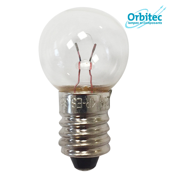 Ampoule à incandescence E10 Krypton 0.9W 3.6V 17x30mm Orbitec