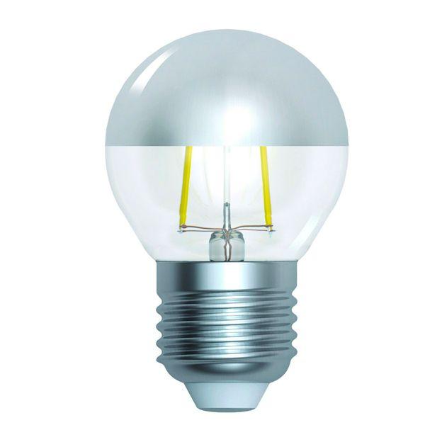 Ampoule claire à calotte argentée E27 60W incandescent MAZDA SUDRON LAMPE CROZE
