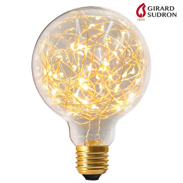 Globe LED E27 1.5W Happy ln Claire 3000K D95mm Girard Sudron