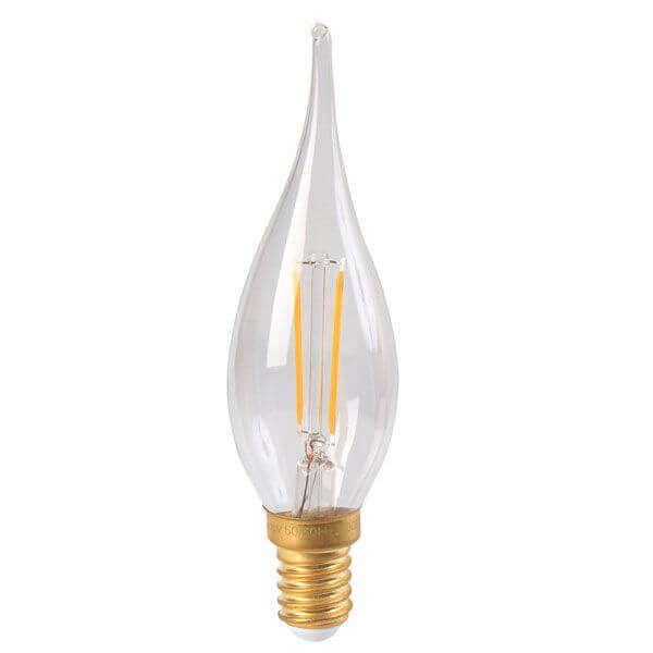 E14 Flamme Led Ampoule Filament À 2w w0POk8n