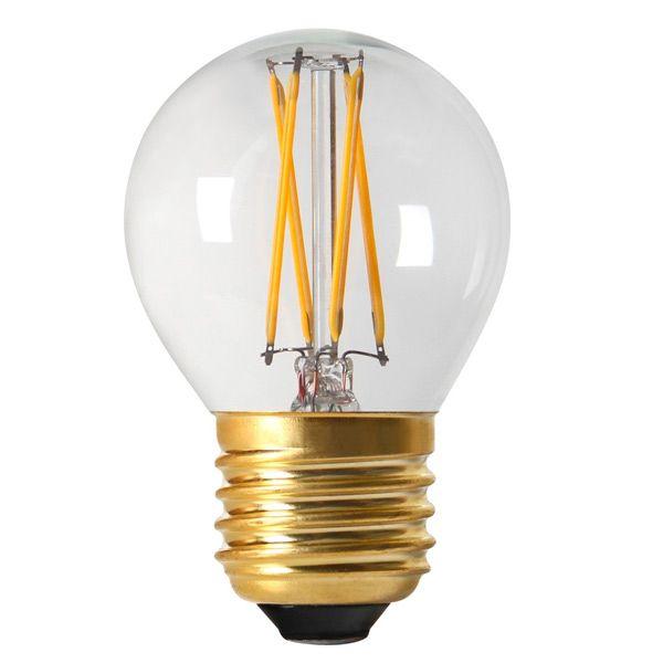 Sudron À 4w Ampoule Claire Led Filament 350lm Sphérique Girard E27 34A5jLqR