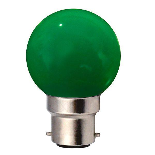 ampoule incandescence b22 sph rique 15w vert ariane ampoules service. Black Bedroom Furniture Sets. Home Design Ideas