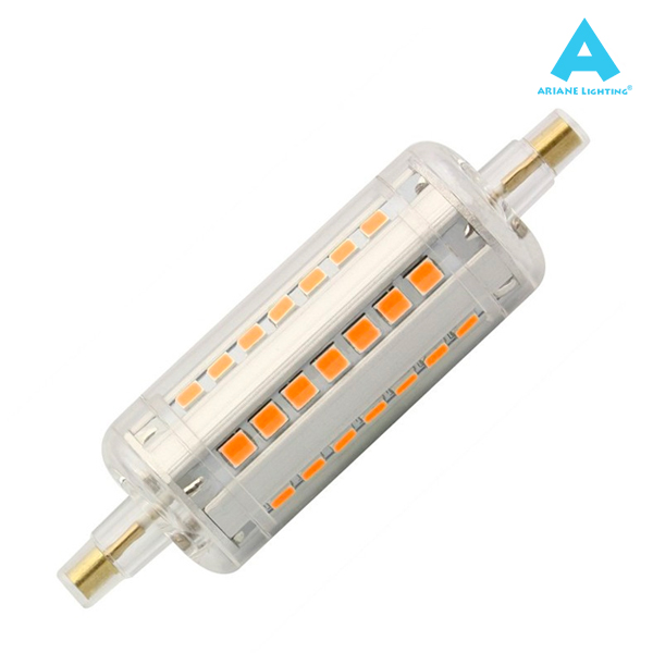 Ampoule LED R7S 5W 78mm 2700K 360° Ariane