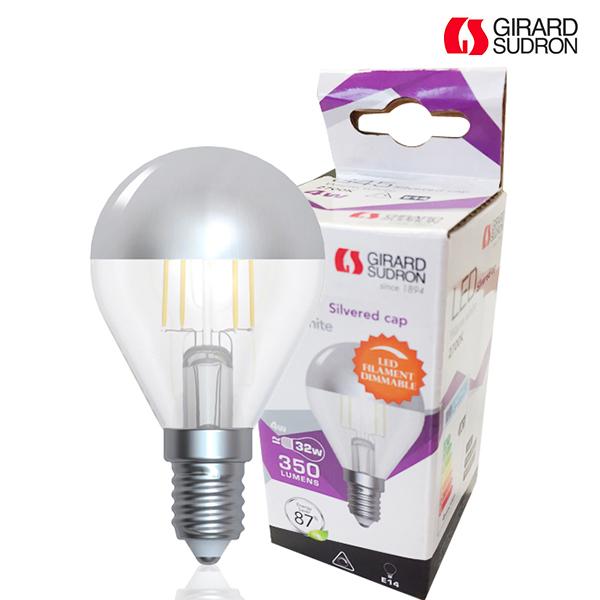 Calotte Standard E27 Argentée 6w Led Ampoule À Girard Filament yvnN8m0Ow