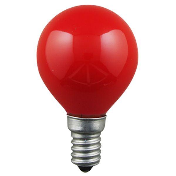 ampoule incandescence e14 sph rique 25w rouge general. Black Bedroom Furniture Sets. Home Design Ideas