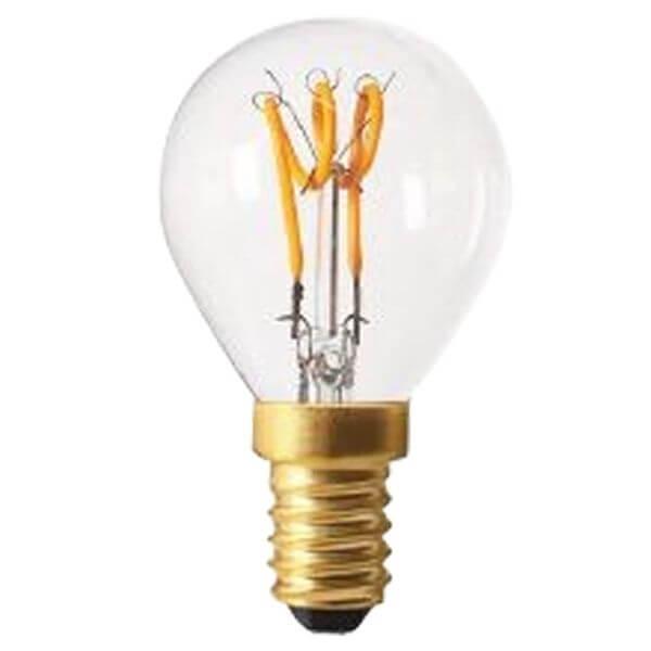 ampoule led filament e14 2w sph rique loops claire girard sudron ampoules service. Black Bedroom Furniture Sets. Home Design Ideas