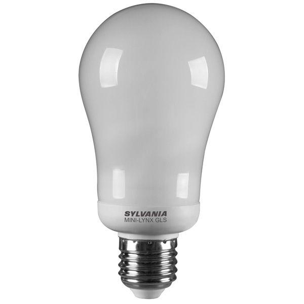 ampoule fluocompacte e27 15w mini lynx standard 2700k sylvania ampoules service. Black Bedroom Furniture Sets. Home Design Ideas
