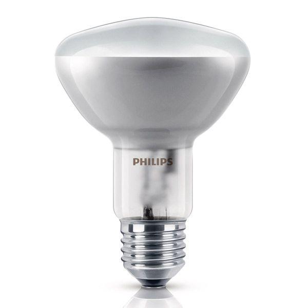 ampoule halog ne r flecteur e27 d80 60w philips ampoules service. Black Bedroom Furniture Sets. Home Design Ideas
