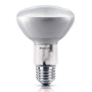 ampoule halog ne r flecteur e27 d80 100w philips ampoules service. Black Bedroom Furniture Sets. Home Design Ideas