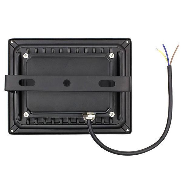 projecteur led 30w rgb noir 120 ip65 ariane ampoules service. Black Bedroom Furniture Sets. Home Design Ideas