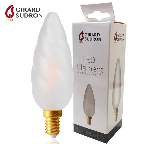 ampoule led filament e14 4w flamme torsad e g ante girard sudron ampoules service. Black Bedroom Furniture Sets. Home Design Ideas