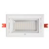Projecteur LED Rectangulaire Orientable 48W 3000K Blanc IP20 Ariane