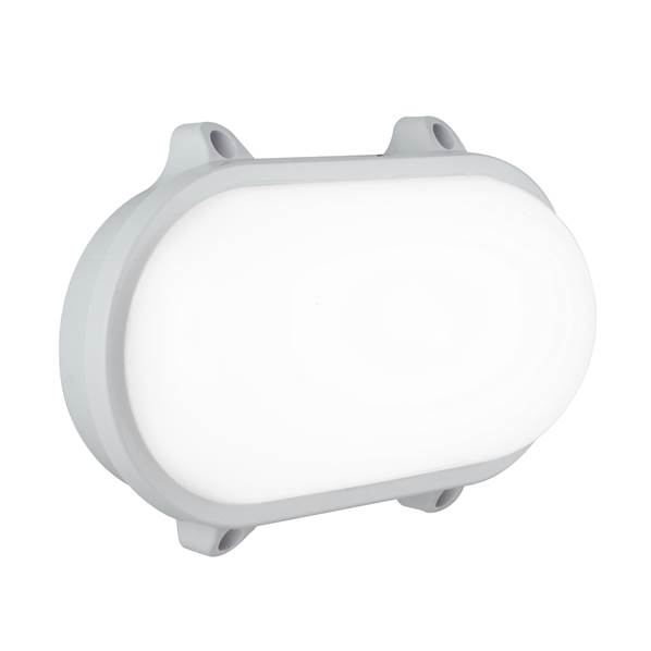 Plafonnier LED SHELLY 15W 1200lm 4000K 120° IP65 PC Blanc et Diffuseur Opale