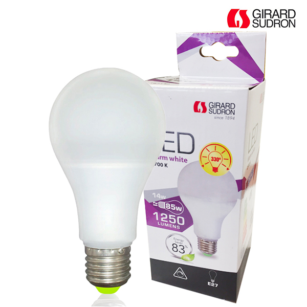 Ampoule LED E27 14W 1250lm Standard Dimmable Girard Sudron