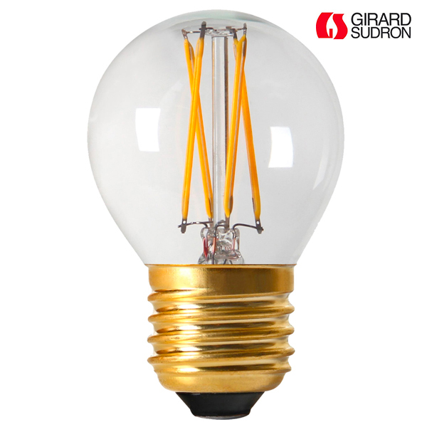 ampoule led filament e27 4w sph rique 4000k claire dimmable girard sudron ampoules service. Black Bedroom Furniture Sets. Home Design Ideas