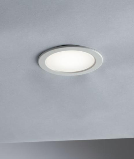 Pack de 5 spots encastrables LED blanc IP44 3,5W 4000k 250lm - NEMO