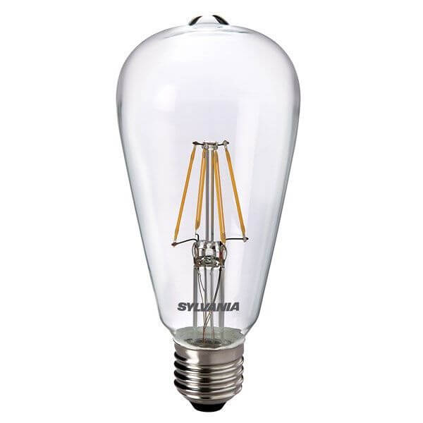 ampoule edison filament led toledo retro vintage e27 4w claire sylvania ampoules service. Black Bedroom Furniture Sets. Home Design Ideas